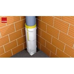 Acoustic Pipe Wrap - Waste and Service Pipes lagging