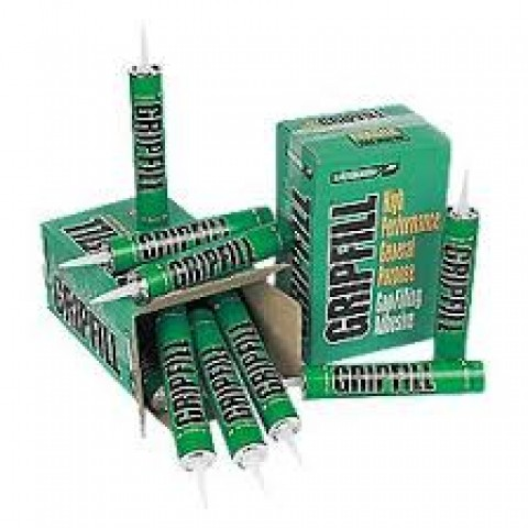 Gripfill Grab Adhesive 350ml - A High Performance, multi-purpose gap filling adhesive.