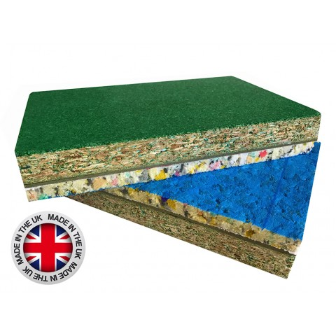 Defender 35mm Structural Acoustic Flooring 2400mm x 600mm x 35mm