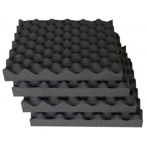 Acoustic Foam Panels Large - Professional Quality Studio Acoustic Treatment (Pack of 6)